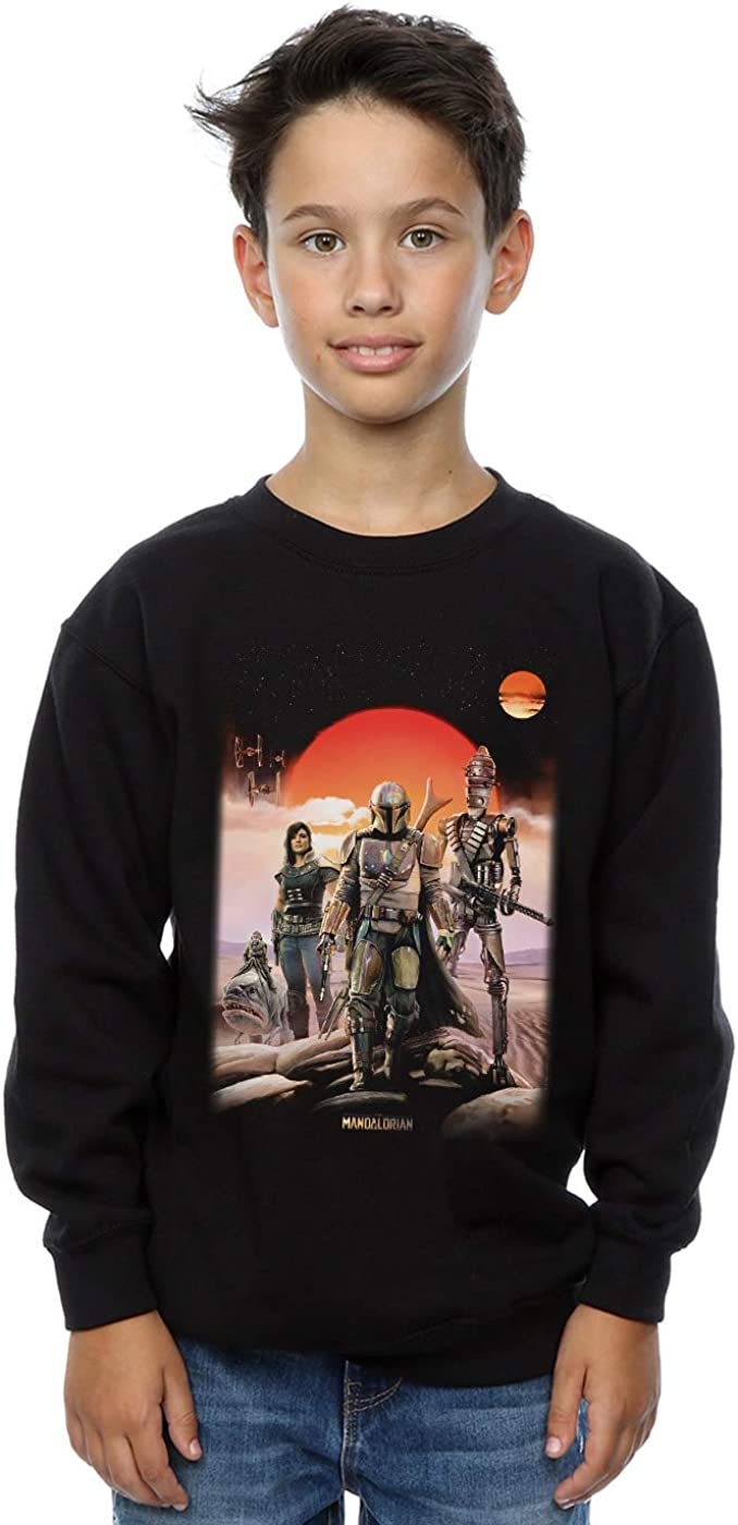 Star Wars Boys The Mandalorian Warriors Sweatshirt