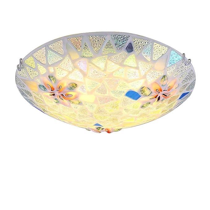 Amazon.com: Lámpara de techo LED creativa de 85-265 V, para ...