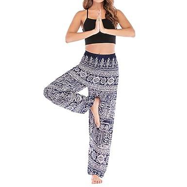 QIYUN.Z Pantalones de Pilates de Yoga para Hombres con ...