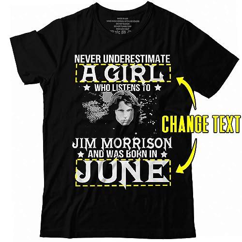Jim Morrison Mens Slippers Personalised Shirt The Doors Rock Hoodie Custom Hausschuhe