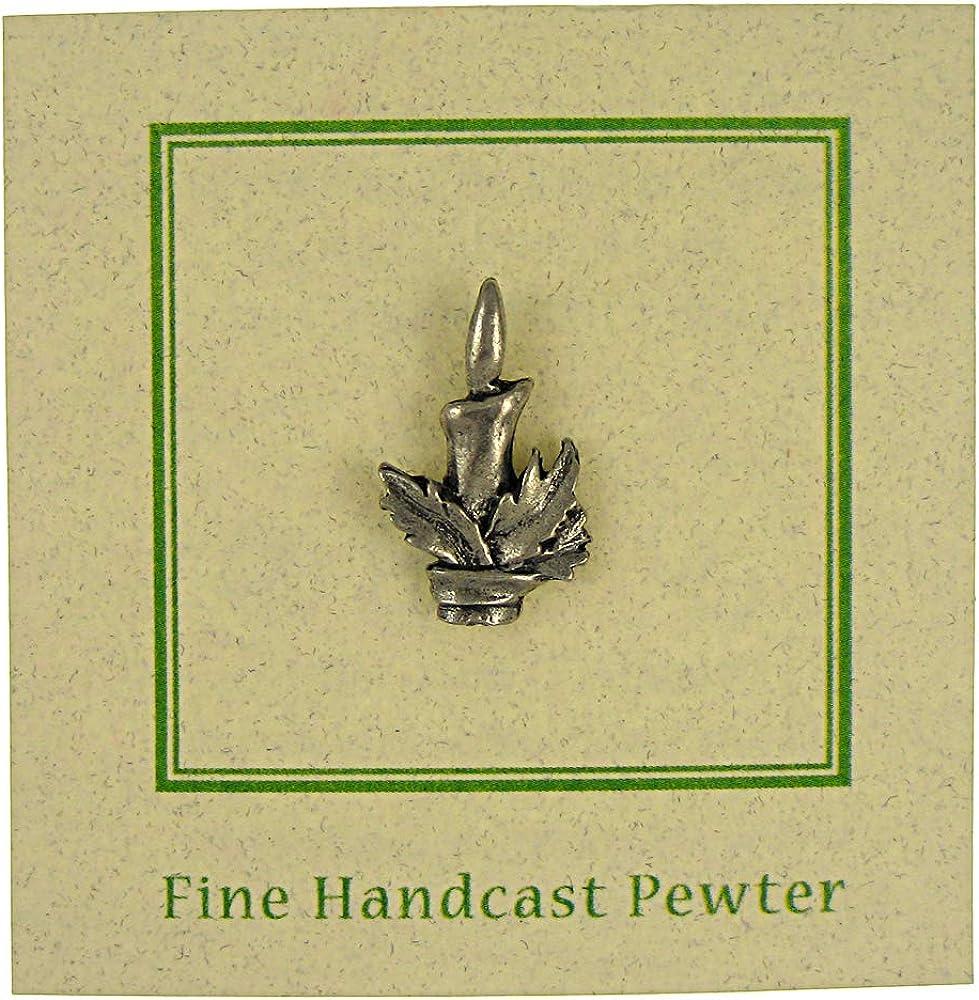 Jim Clift Design Candlestick Lapel Pin
