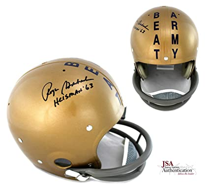 2301a2b2e13 Image Unavailable. Image not available for. Color: Roger Staubach  Autographed/Signed Navy ...