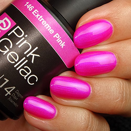 Pink Gellac #146 Extreme Pink Soak-Off UV / LED Gel Polish