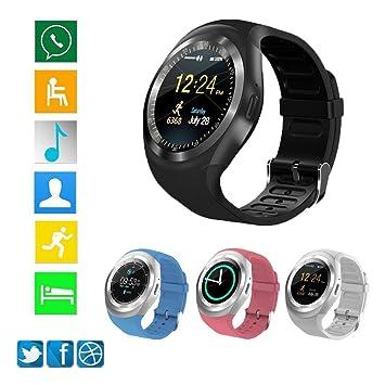 HCWF Reloj Inteligente con Bluetooth Relogio Android SmartWatch ...