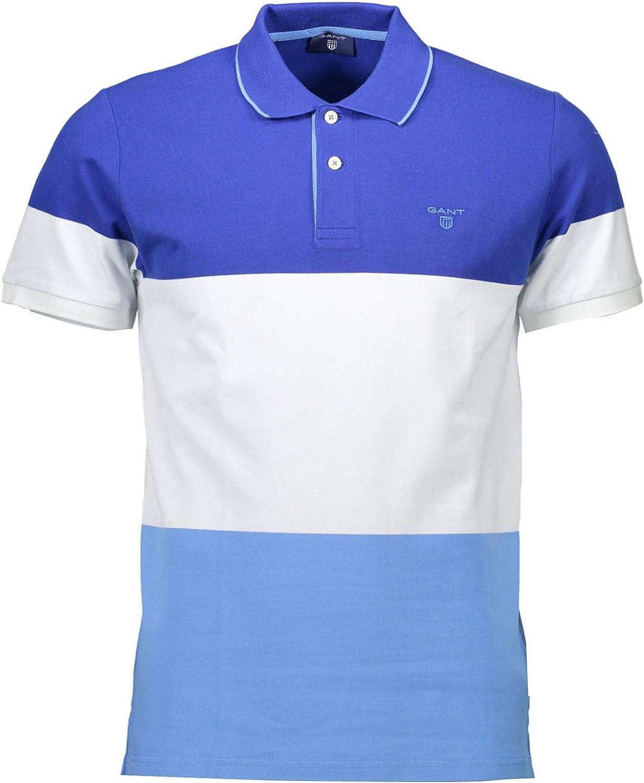 Gant Polo Camisa 3 Colores Rayas Piqué Rugger Los Hombres, Yale ...