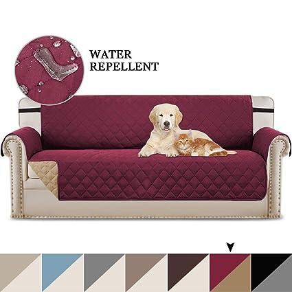 BellaHills - Funda Acolchada de Lujo para sofá o sofá ...