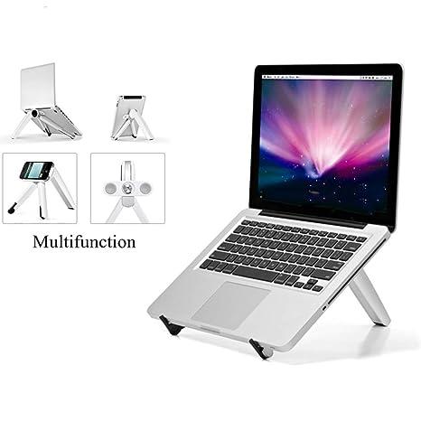 Soporte portátil para computadora para escritorio de pie, iMac Books, iPad, Tablet Phone