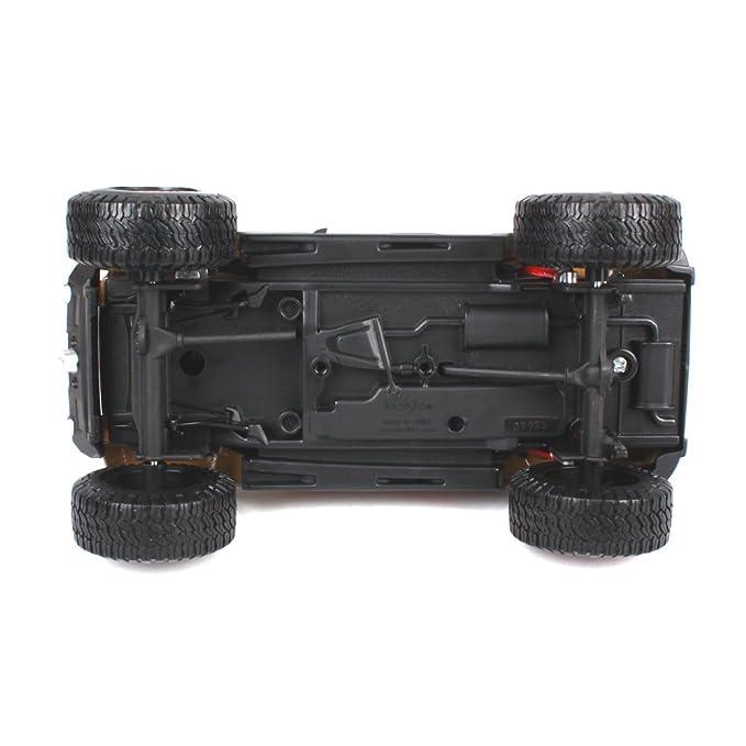 Penao Jeep Wrangler Modificado Versión Simulación Aleación Coche Modelo, Modelo SUV, Relación 1:24: Amazon.es: Jardín