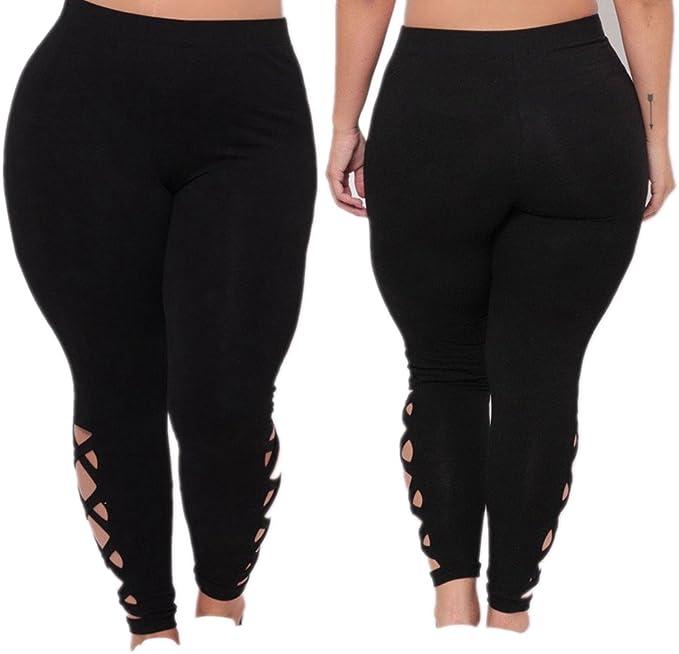 Weant Pantalones Yoga Mujeres Mallas Deportivas Mujer Talla grande ...