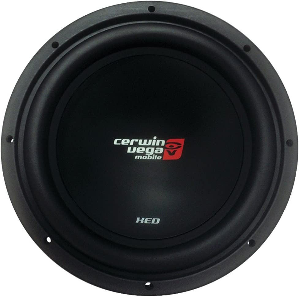 """CERWIN-VEGA MOBILE XED12 XED SVC 4_ Subwoofer (12"""""""", 1,000 Watts) Consumer electronic"""