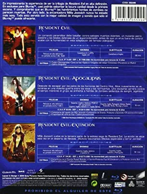 Pack Resident Evil [Blu-ray]: Amazon.es: Christopher Egan, Oded ...