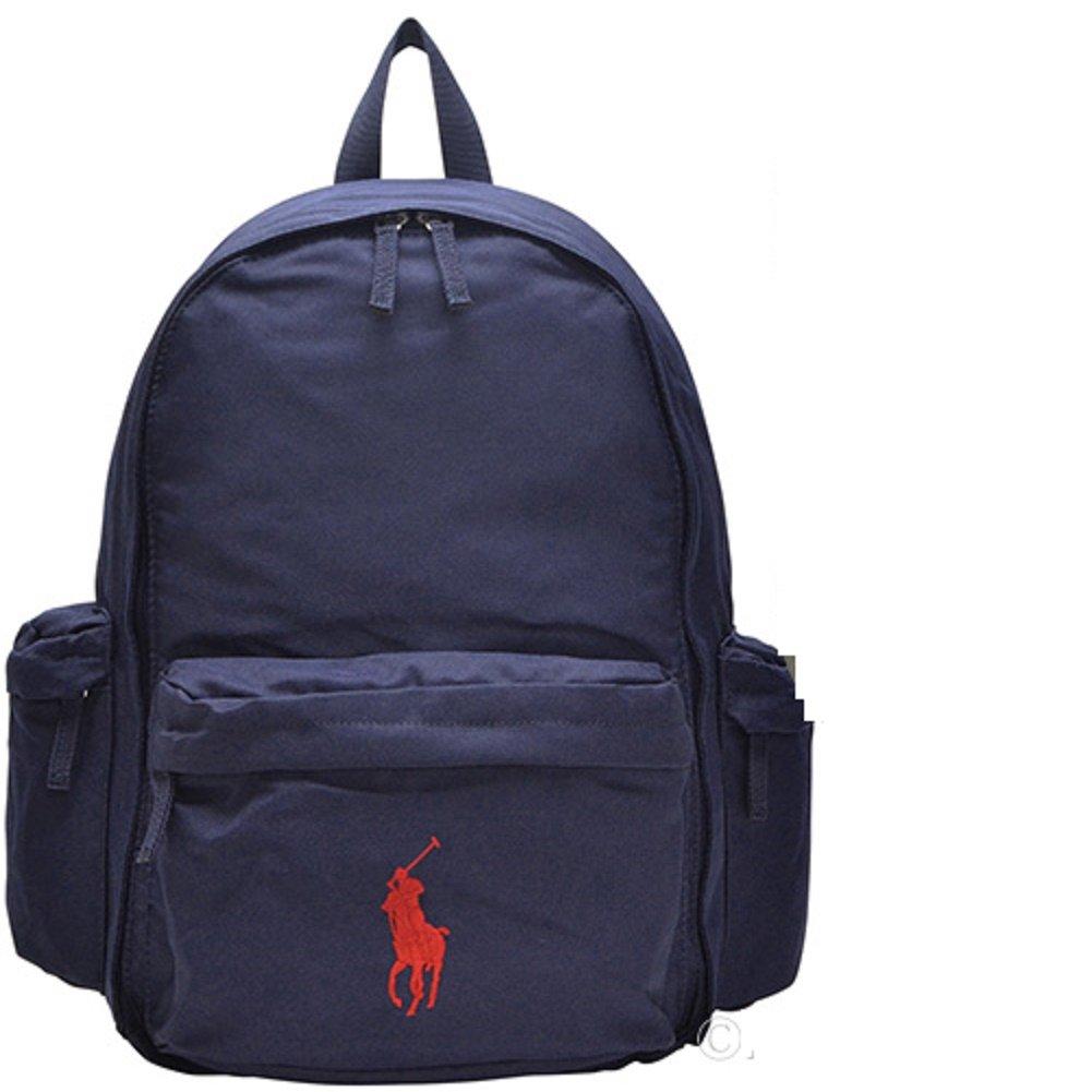 5d3ae2d62a Polo Ralph Lauren Kids school backpack Gym Sports Navy Boys Big Pony