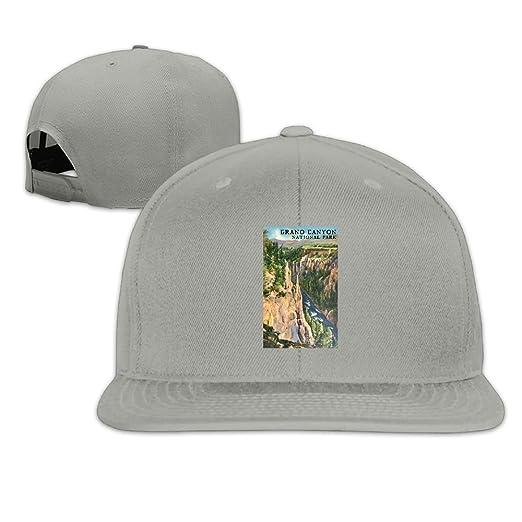 841a3cb2 Grand Canyon National Park Men Hip Hop Hat Flat Bill Brim Cap at ...