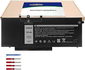 GJKNX Laptop Battery Replacement for Dell Latitude E5480 E5490 E5491 E5580 E5590 E5591 Precision 15 3520 M3530 Series Notebook GD1JP DY9NT 5YHR4 451-BBZG 7.6V 68Wh 8500mAH