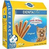 Pedigree DENTASTIX Toy/Small Dental Dog Treats Original, 1.68 lb. Value Pack (108 Treats)