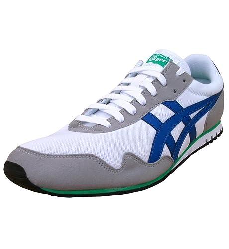 Asics - Onitsuka Tiger Sumiyaka - Zapatillas deportivas para hombre - Blanco, raya azul - Eur 46.5: Amazon.es: Zapatos y complementos