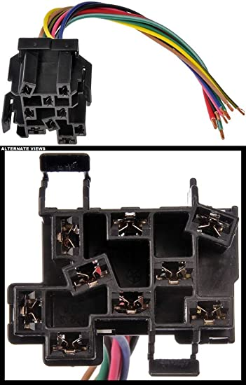 61jsBVDTHwL._SY550_ amazon com apdty 133905 headlight switch electrical wiring 9 wire jeep wire harness connectors at bayanpartner.co