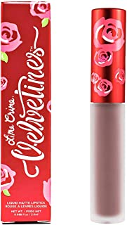 product image for Lime Crime Velvetines Liquid Matte Lipstick, Cashmere - Grey Beige - French Vanilla Scent - Long-Lasting Velvety Matte Lipstick - Won't Bleed or Transfer - Vegan