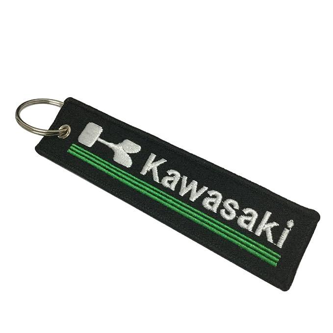 Tagg 1pcs Etiqueta Llavero para Kawasaki Motocicletas ...