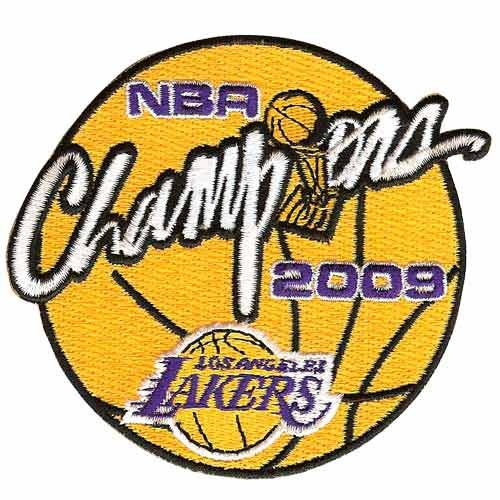 NBA Los Angeles Lakers 2009 NBA Championship Collectible Logo Patch