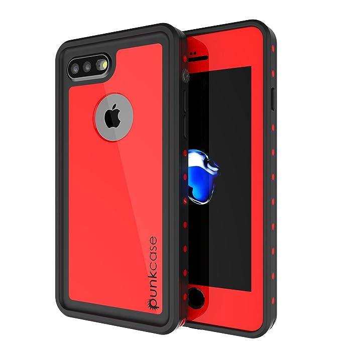 best authentic 2804b 1ee5e iPhone 8 Plus Waterproof Case, Punkcase [StudStar Series] [Slim Fit] [IP68  Certified] [Shockproof] [Dirtproof] [Snowproof] Universal Armor Cover for  ...