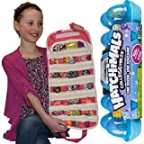 Season 2 Colleggtibles One Dozen Eggs,Hatchimals with Compatible EASYVIEW Toy Storage Organizer Case Bundle (Pink-S2)