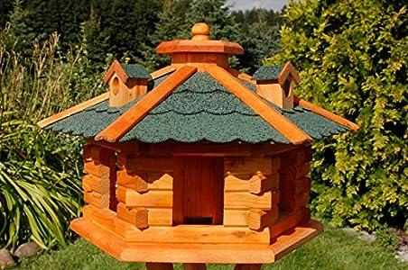 Deko Shop Hannusch Xxl Vogelhaus Vogelvilla Mit Gauben Nr16