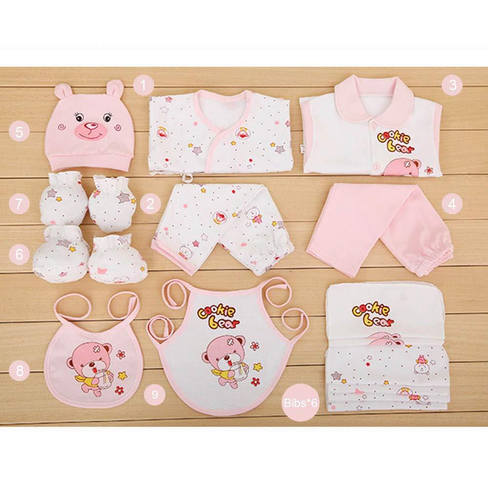 17 Pcs Newborn Baby Set Boy Clothes Cotton Infant Suit Baby Girl Clothes Thin