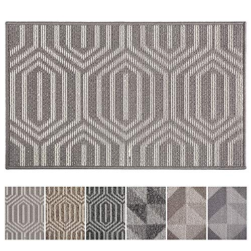 Indoor Doormat Front Door Mat No Odor Durabler Anti-Slip Rubber Backing Door Mats Inside Low-Profile Entrance Door Rug Shoe Scraper Machine Washable - 20