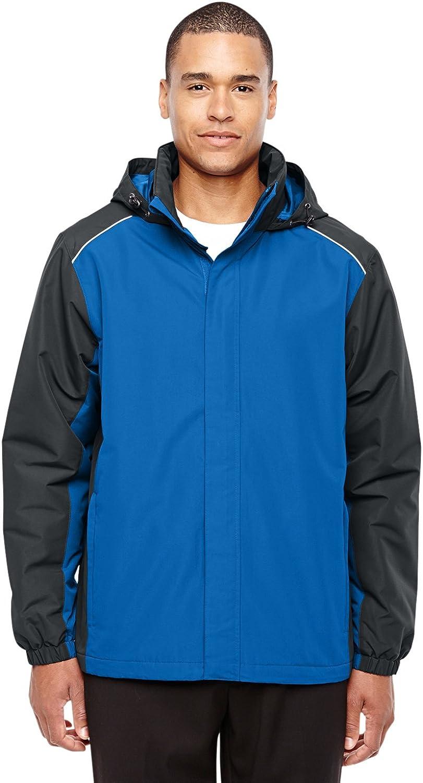 S Ash City Mens Inspire Colorblock All-Season Jacket 88225 -TR ROY// CRBN