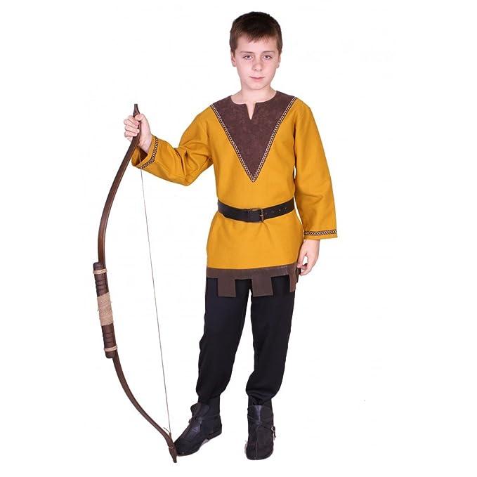 Traje medieval niño Arquero: Amazon.es: Ropa y accesorios