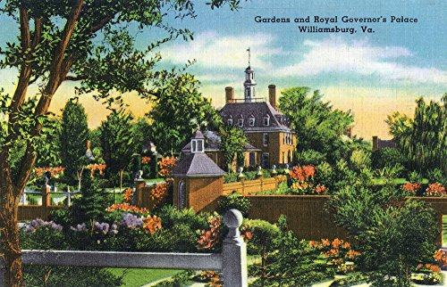 Williamsburg, Virginia - View of the Royal Governor