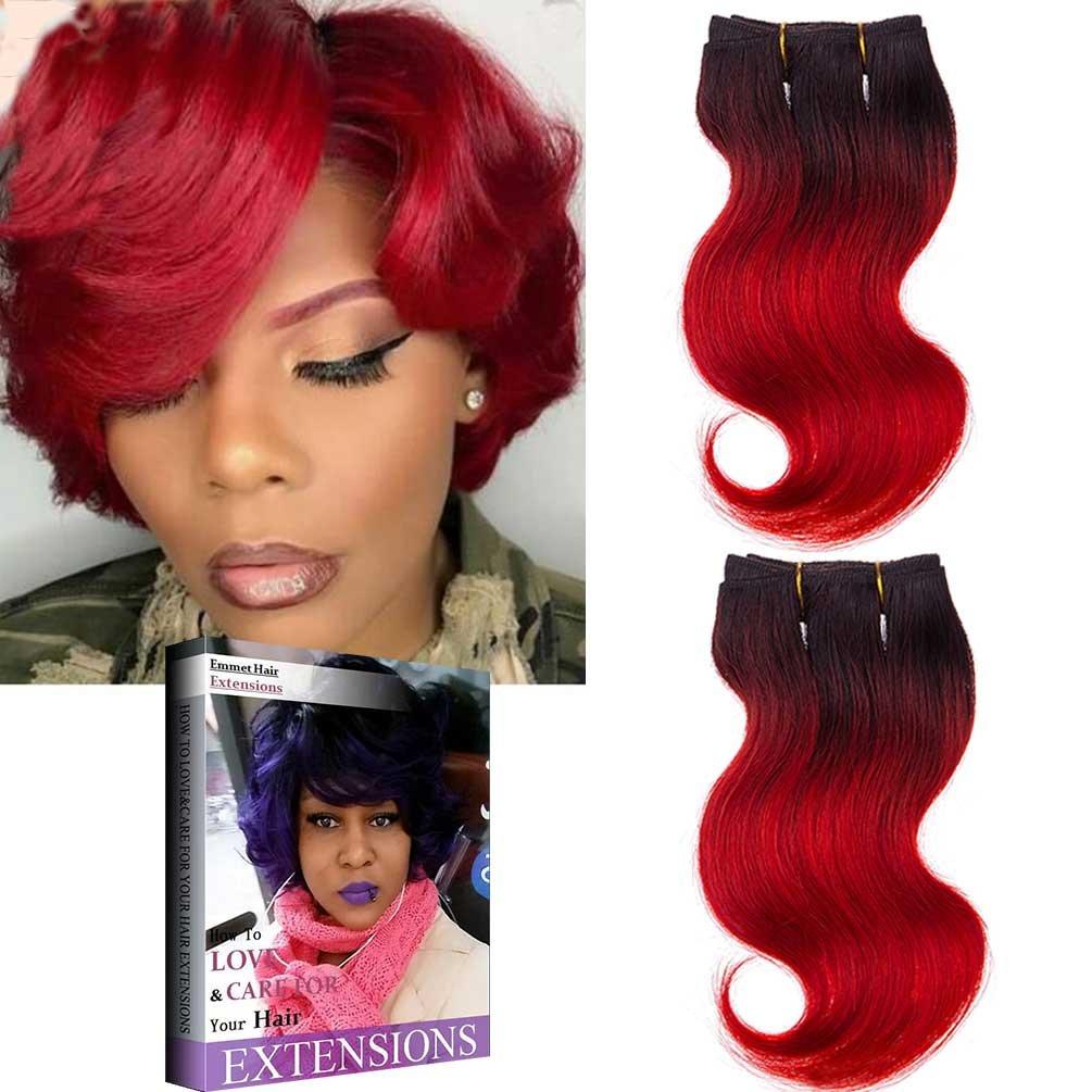 Emmet Brazilian Hair Extension Ombre Colors Virgin Hair Body Wave