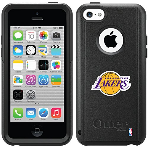 Coveroo Commuter Series Cell Phone Case for iPhone 5c - Retail Packaging - Los Angeles Lakers