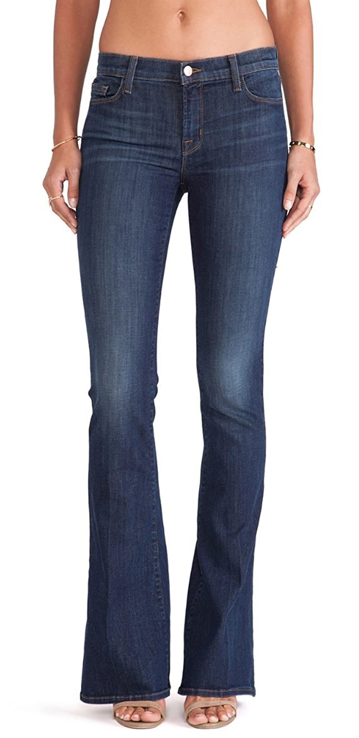 Women's J Brand Mid-Rise Skinny Flare Jeans Storm