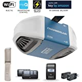 Chamberlain Group Chamberlain B970 Smartphone-Controlled Ultra-Quiet and Strong Belt Drive Garage Door Opener with…