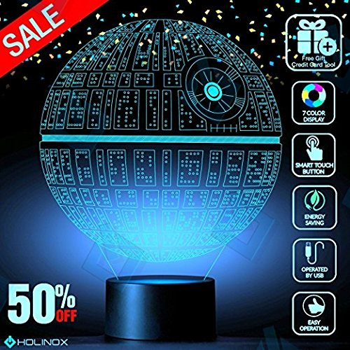 DEATH STAR 3D Light Awesome Gift for star wars fans Christmas gifts MT271 (Order Spring Catalogs)