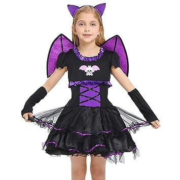 4PCS Disfraz de Halloween Set Novedad Traje de murciélago ...