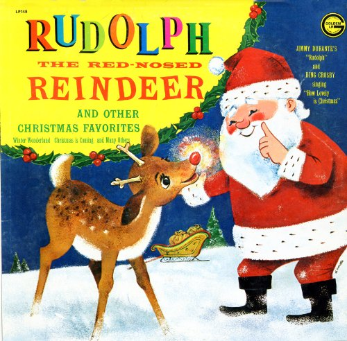 Audio CD. Rudolph the Red-Nosed Reindeer. Golden Records. (LP148)