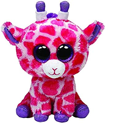 Ty Beanie Boos Twigs Pink Giraffe Regular Plush: Toys & Games