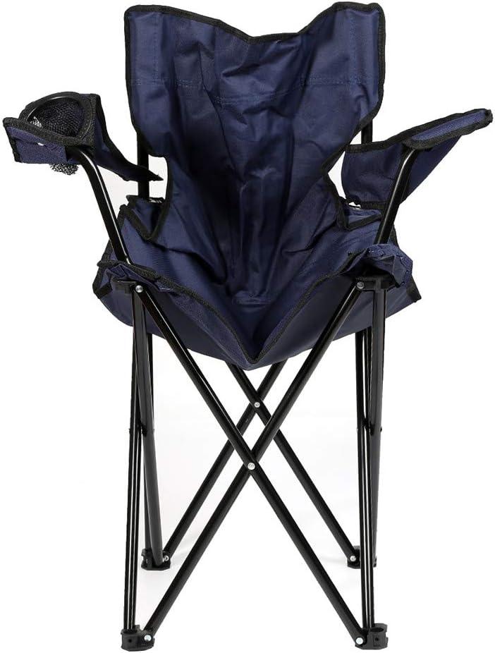 adapt/é pour Le Camping Charge maximale 130KG Turefans Chaise de Camping Le Barbecue en Plein air 50 * 50 * 80 cm Tissu Oxford /étanche Chaise dext/érieur la p/êche