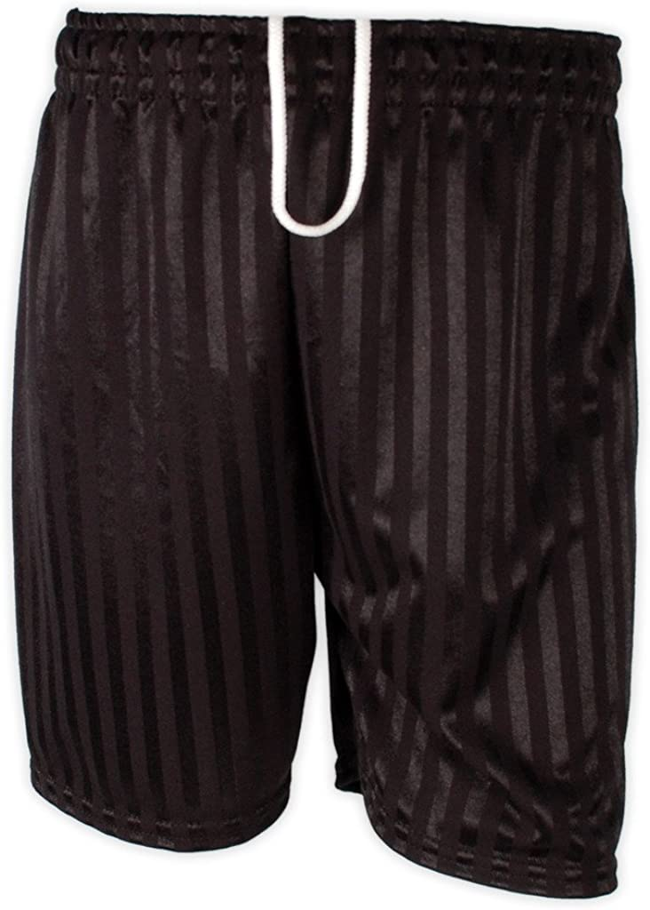 Smart Clothing Pe School Football Shadow Stripe Sports Shorts Red Maroon Navy Royal Black White