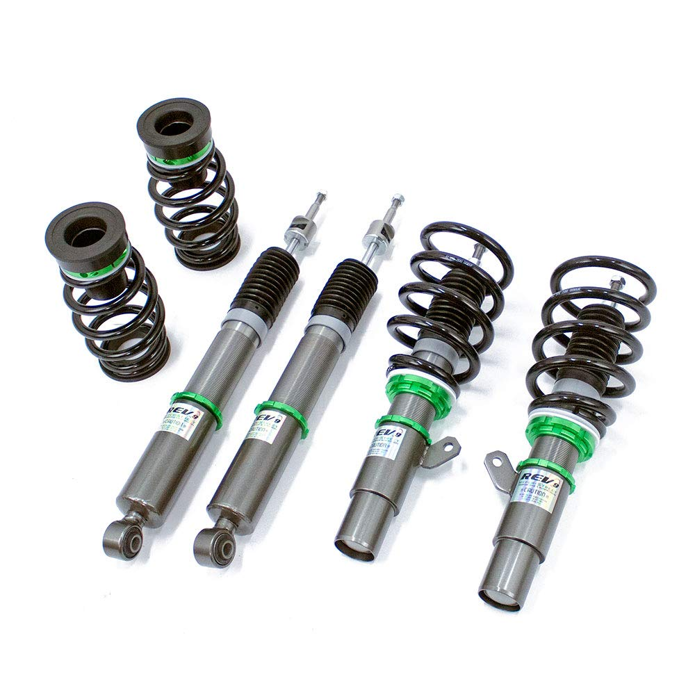 R9-HB-1099-50 2.0L NA 2016-20 Rev9 compatible with Honda Civic Mono Tube Ride Height//32-Way Damping Force Adjustable Hyper-Street Basic Coilovers FC//FK