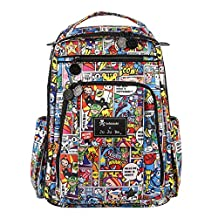 Ju-Ju-Be Tokidoki Collection Super Toki Backpack Diaper Bag, Be Right Back