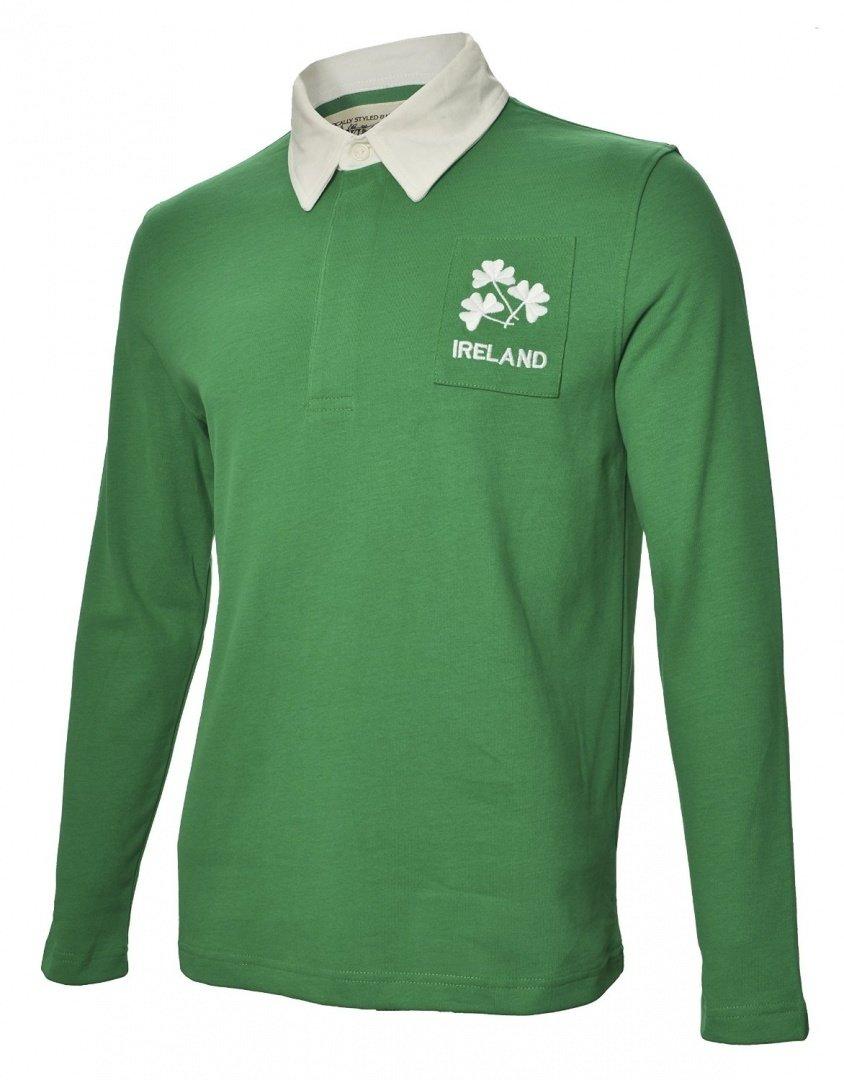 Olorun - Camiseta de Rugby del Equipo de Irlanda Estilo Vintage ...