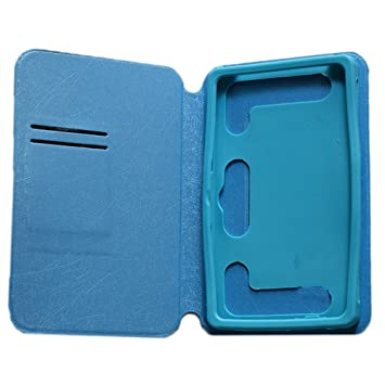 KANICT Tablet Leather Flip Case Cover Compatible for iBall Slide Octa A41  Sky Blue  Bags   Cases