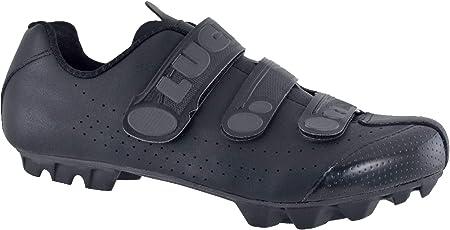 LUCK Zapatillas de Ciclismo Matrix Revolution MTB, con una estupenda Suela de Carbono Muy Ligera y rígida y Triple Velcro para un Ajuste