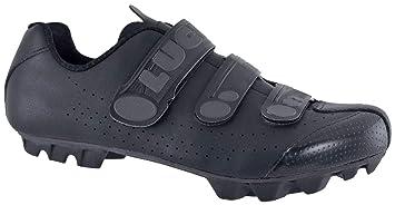 LUCK Zapatillas de Ciclismo Matrix Revolution MTB, con una estupenda Suela de Carbono Muy Ligera