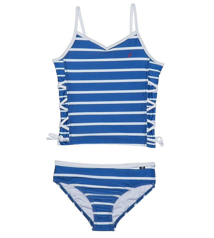 Nautica Little Girls' Stripe Tankini O0035Q