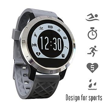 Ipuis natación Reloj Bluetooth SmartWatch IP68 Impermeable de los ...